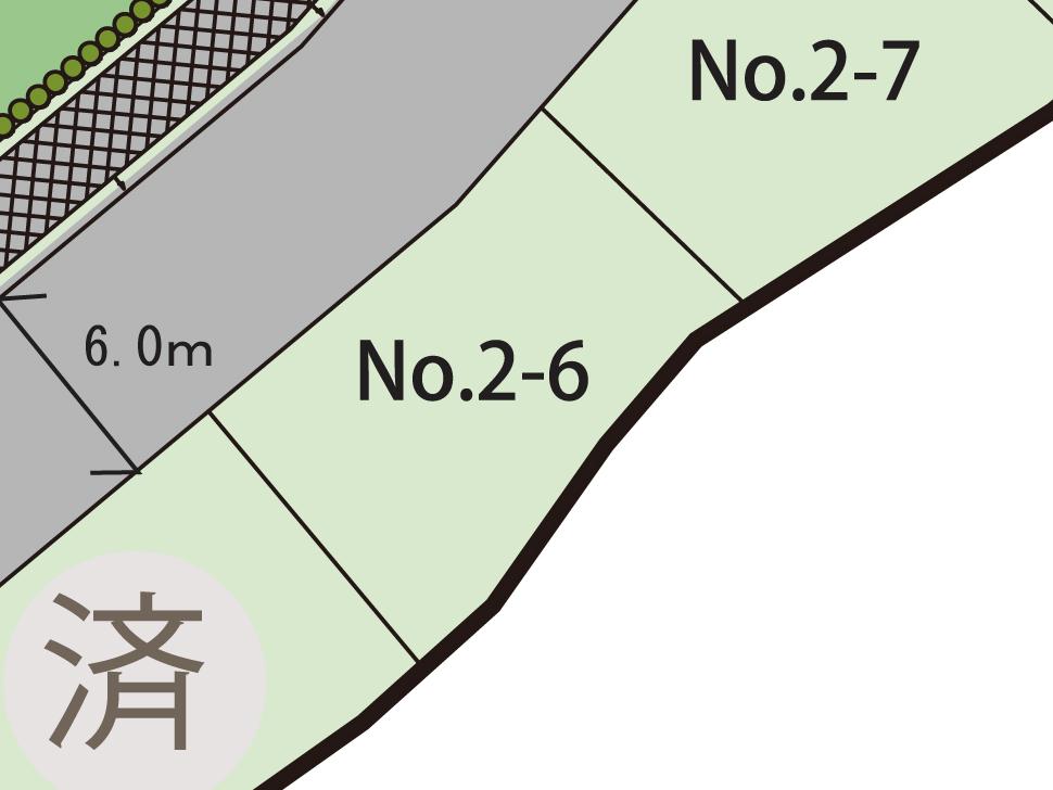 さがみ野の丘 土地 2-6 区画